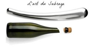 L'art de sabrer le champagne