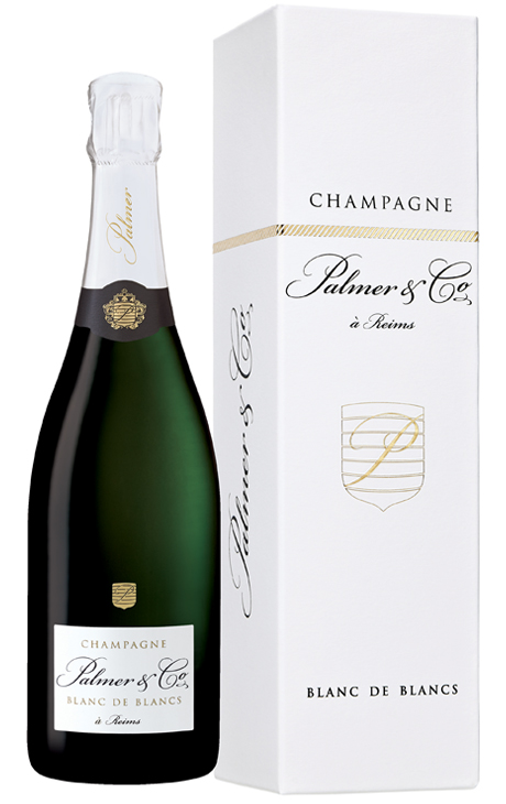 Palmer co Blanc de Blancs bouteille étui - Champmarket