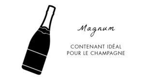 Magnum contenant idéal pour le champagne