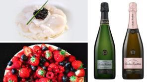 Menu de Paques champagne Nicolas Feuillatte