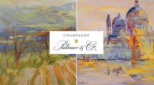 Champagne Palmer & Co expose les oeuvres de l'artiste Hervé Loilier