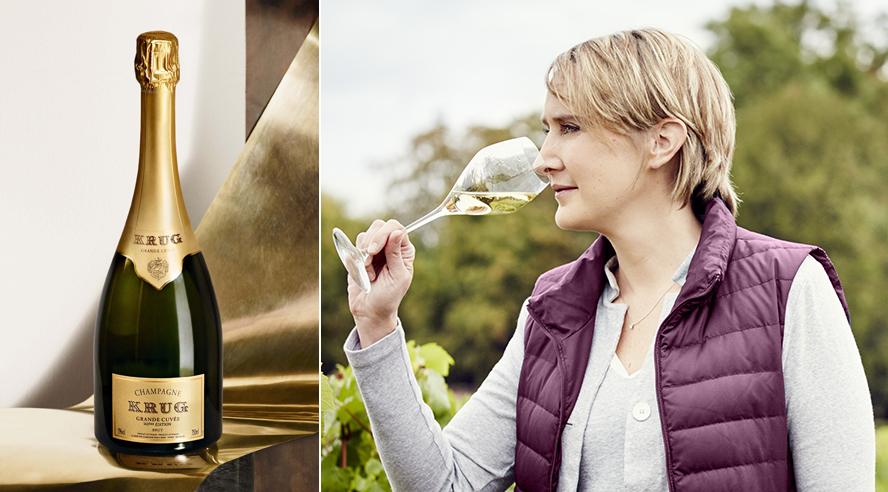 Julie Cavil, nouvelle Chef de Cave des champagnes Krug