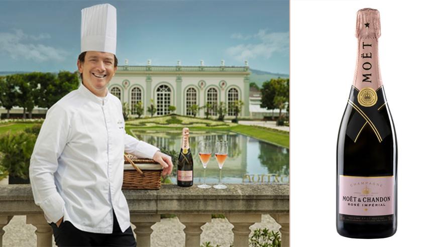 Pique-nique & champagne dans les jardins de l'Orangerie Moët & Chandon