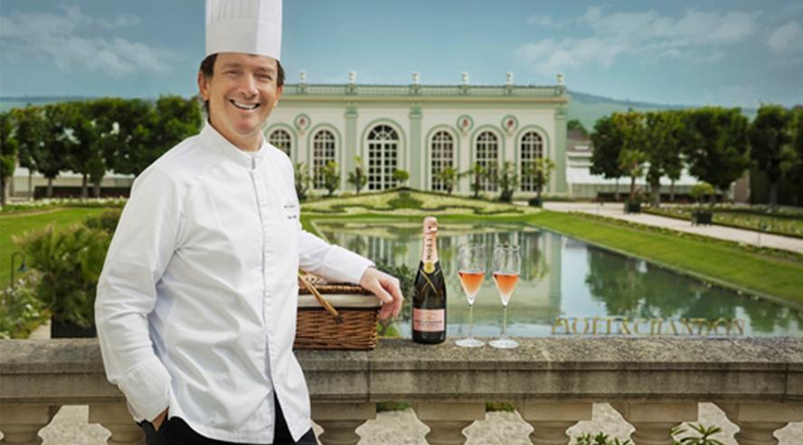 Pique-nique & champagne dans les jardins de l'Orangerie chez Moët & Chandon - Champmarket