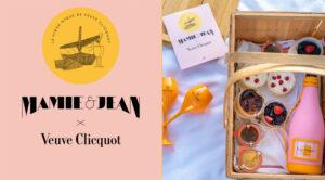 Le panier pique-nique Veuve Clicquot x Jean Imbert