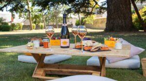 Veuve Clicquot vous invite à déjeuner sur l'herbe au Manoir de Verzy