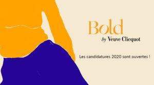 Prix Veuve ClicquotBold Woman Award 2020
