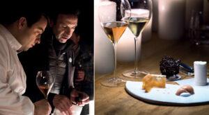 Le Chef Alexandre Gauthier imagine un menu Unconventional pour la Maison Ruinart