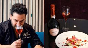 Accord parfait avec la Cuvée RoséLaurent-Perrier par Denny Imbroisi