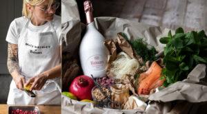 Le menu Ruinart Rosé à préparer chez soi par Ecaterina Paraschiv - Champmarket