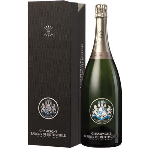 Champagne Barons de Rothschild Blanc de Blancs Magnum avec coffret - Champmarket