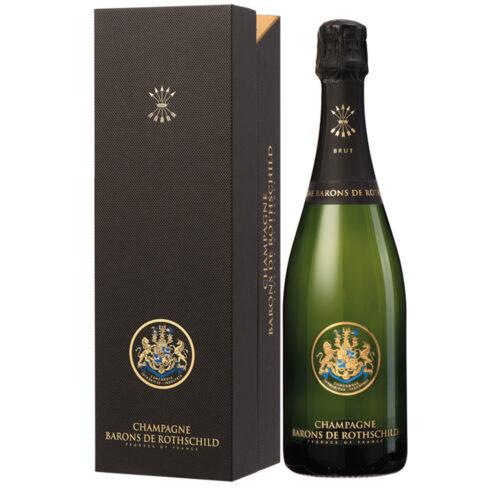 Champagne Barons de Rothschild Brut bouteille avec coffret - Champmarket