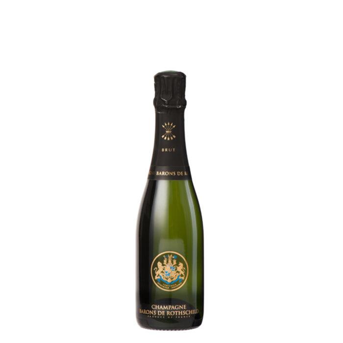 Champagne Barons de Rothschild Brut Demi Bouteille - Champmarket