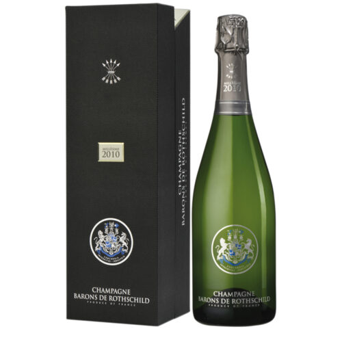 Champagne Barons de Rothschild Millésime 2010 bouteille avec coffret - Champmarket