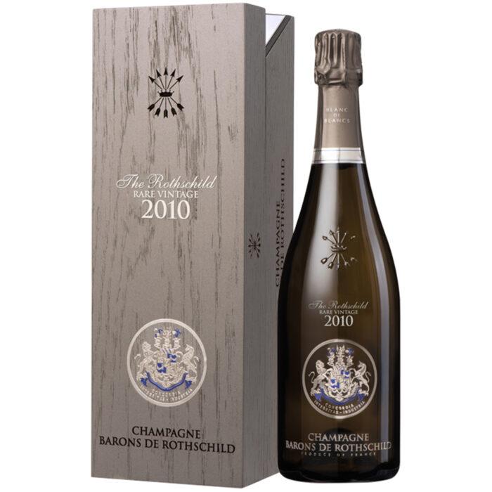 Champagne Barons de Rothschild Rare Vintage 2010 bouteille avec coffret - Champmarket