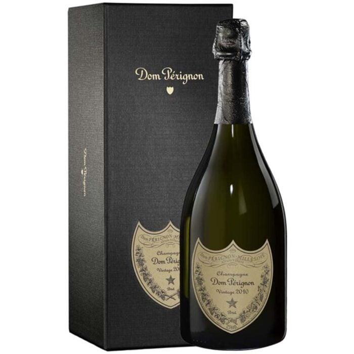 Champagne Dom Pérignon Vintage 2010 Bouteille avec coffret - Champmarket
