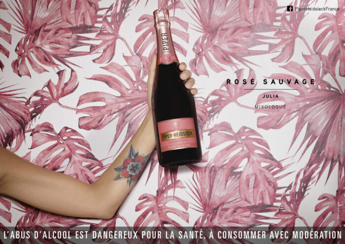 Champagne PIPER-HEIDSIECK Rose Sauvage