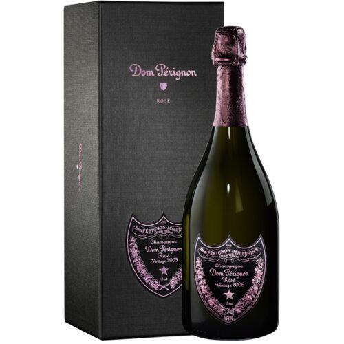 Champagne Dom Pérignon Rosé Vintage 2006 bouteille avec coffret - Champagne