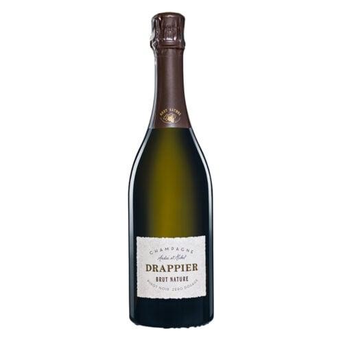 Champagne Drappier Brut Nature bouteille - Champmarket