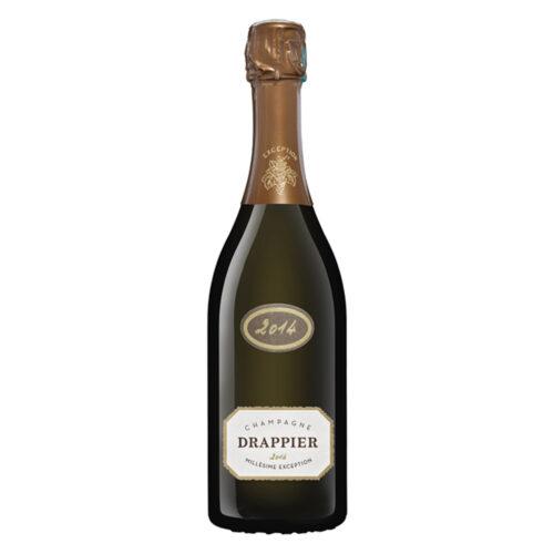 Champagne Drappier Millésime Exception bouteille - Champmarket