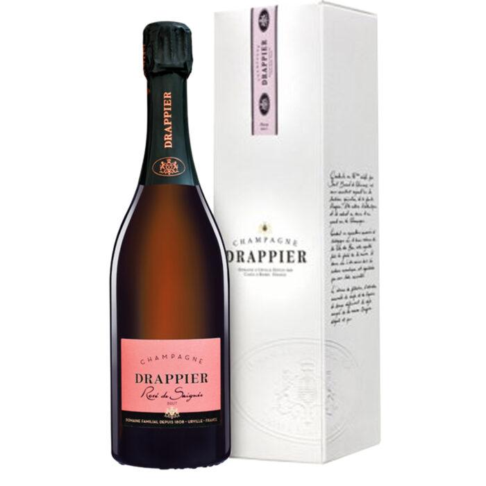 Champagne Drappier Rosé de Saignée - Champmarket
