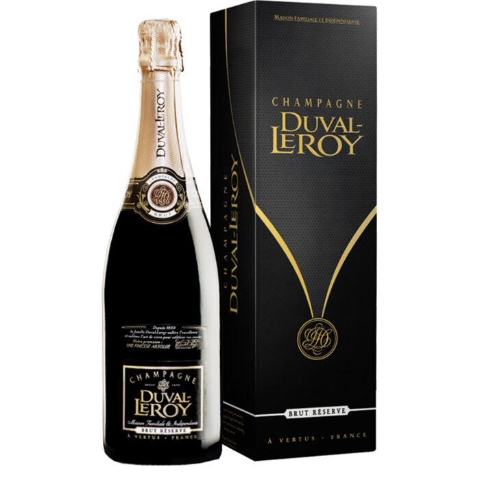 Champagne Champagne Duval-Leroy Brut Réserve bouteille avec étui - Champmarket