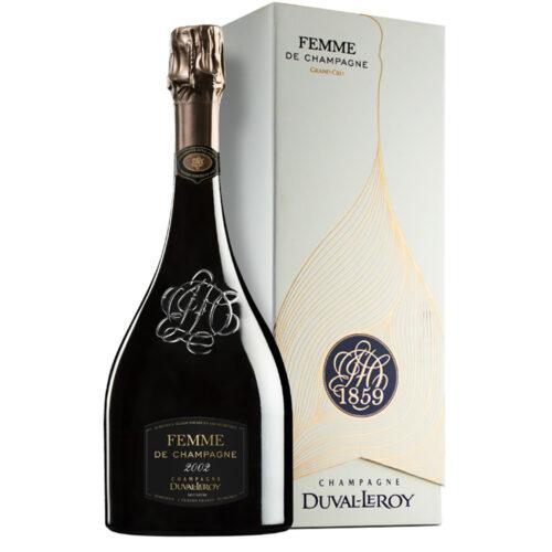 Champagne Duval-Leroy Femme de Champagne 2002 bouteille avec coffret - Champmarket