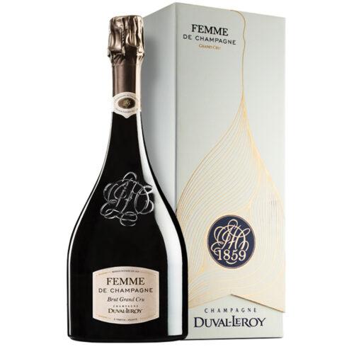 Champagne Champagne Duval-Leroy Femme de Champagne Brut Grand Cru bouteille avec coffret- Champmarket