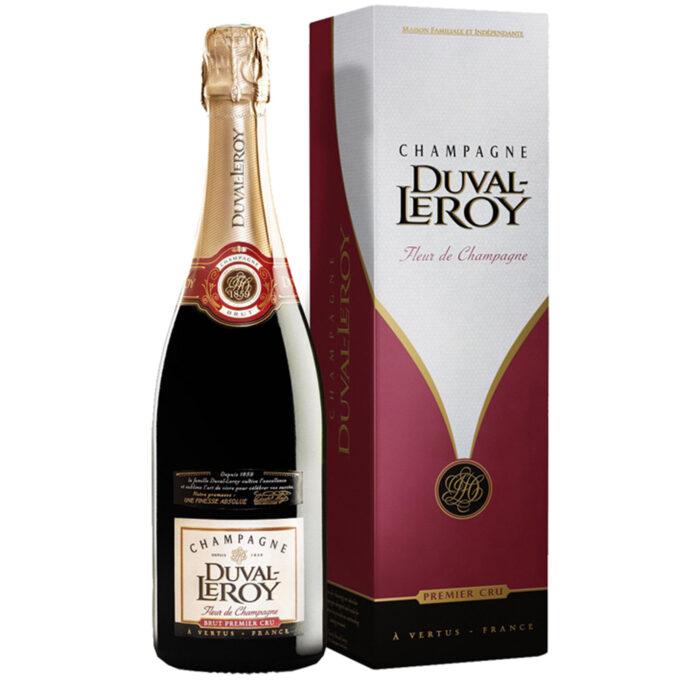 Champagne Duval-Leroy Fleur de Champagne bouteille avec étui - Champmarket