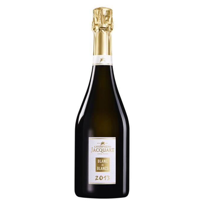 Champagne Jacquart Blanc de Blancs Millésime 2013 bouteille - Champmarket