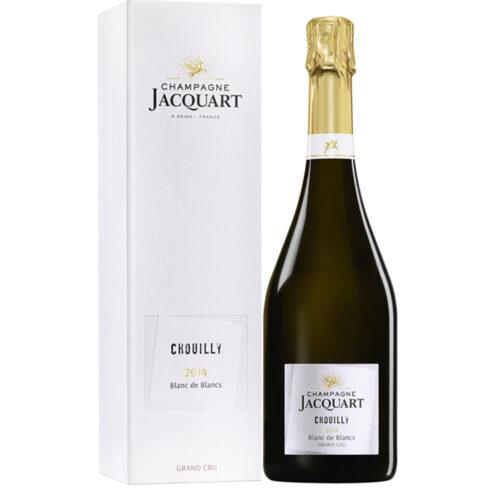 Champagne Jacquart Chouilly Grand Cru Blancs de Blancs 2014 Bouteille avec étui - Champmarket