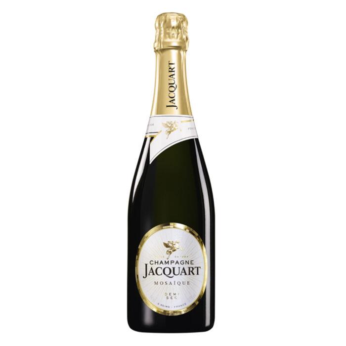 Champagne Jacquart Mosaïque Demi-Sec Bouteille - Champmarket