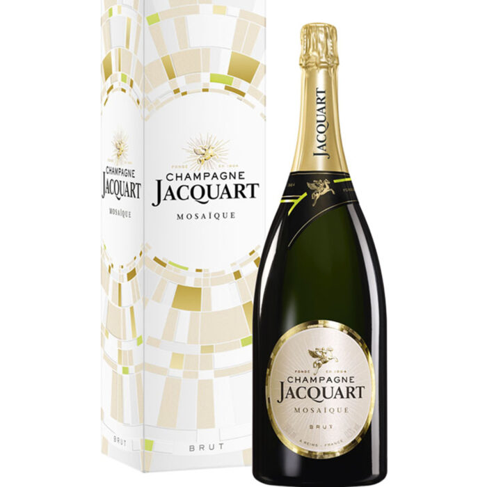 Champagne Jacquart Mosaïque Brut bouteille avec étui - Champmarket