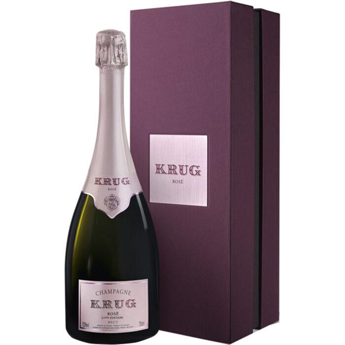 Champagne Krug Rosé 23ème édition Bouteille avec coffret - Champmarket