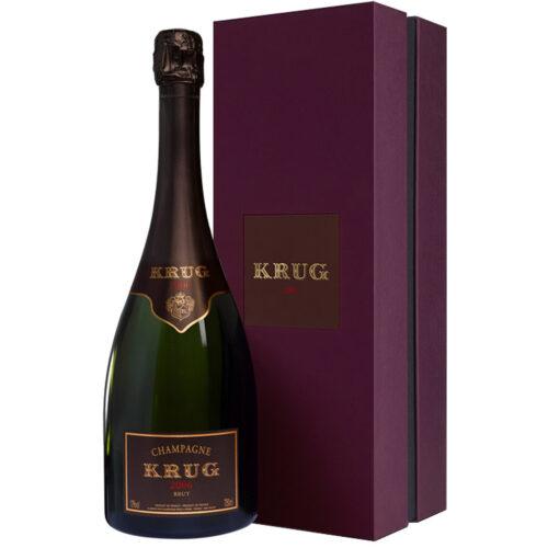 Champagne Krug Vintage 2006 bouteille avec coffret - Champmarket