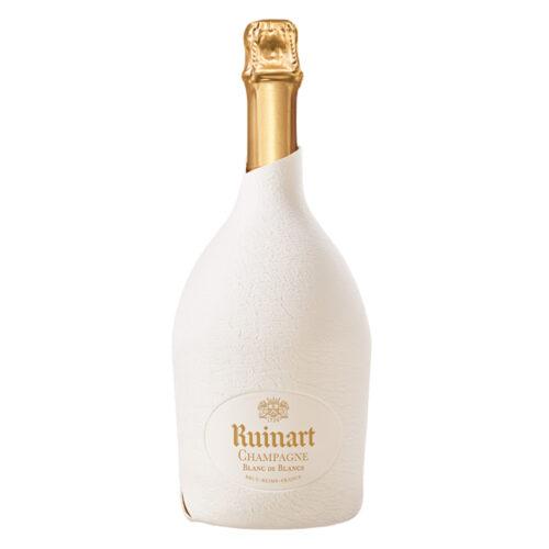 Champagne Ruinart Blanc de Blancs bouteille avec Étui Seconde Peau - Champmarket