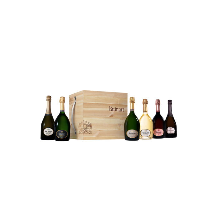 Champagne Ruinart Cave Urbaine 6 bouteilles - Champmarket