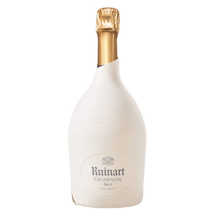 Champagne Ruinart R bouteille Étui Seconde Peau - Champmarket