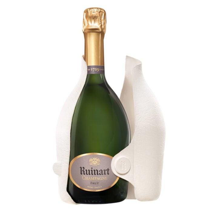 Champagne Ruinart R Bouteille avec Étui Seconde Peau - Champmarket