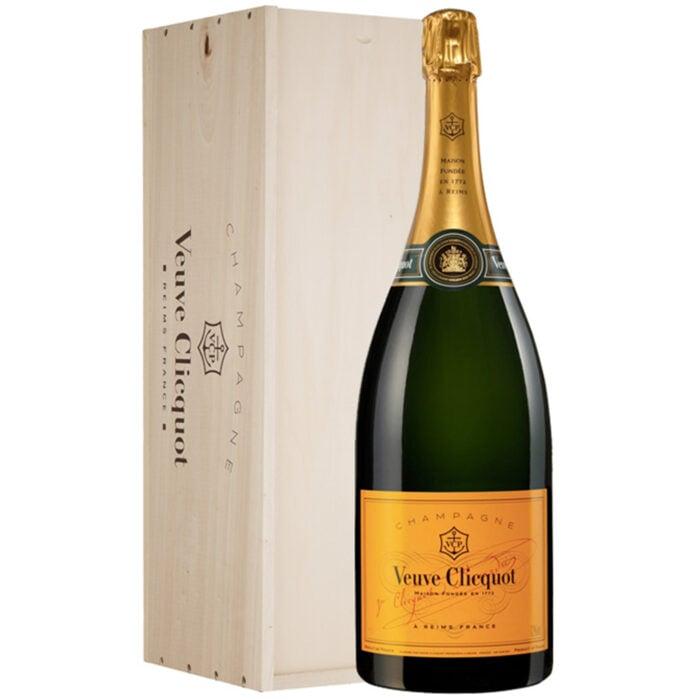Champagne Veuve Clicquot Brut Carte Jaune Jéroboam - Champmarket