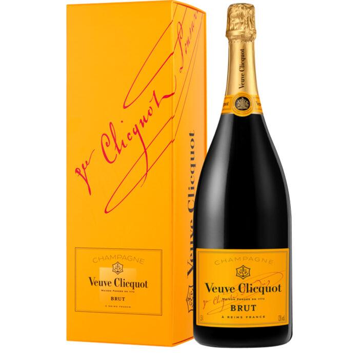Champagne Veuve Clicquot Brut Carte Jaune Magnum avec étui - Champmarket