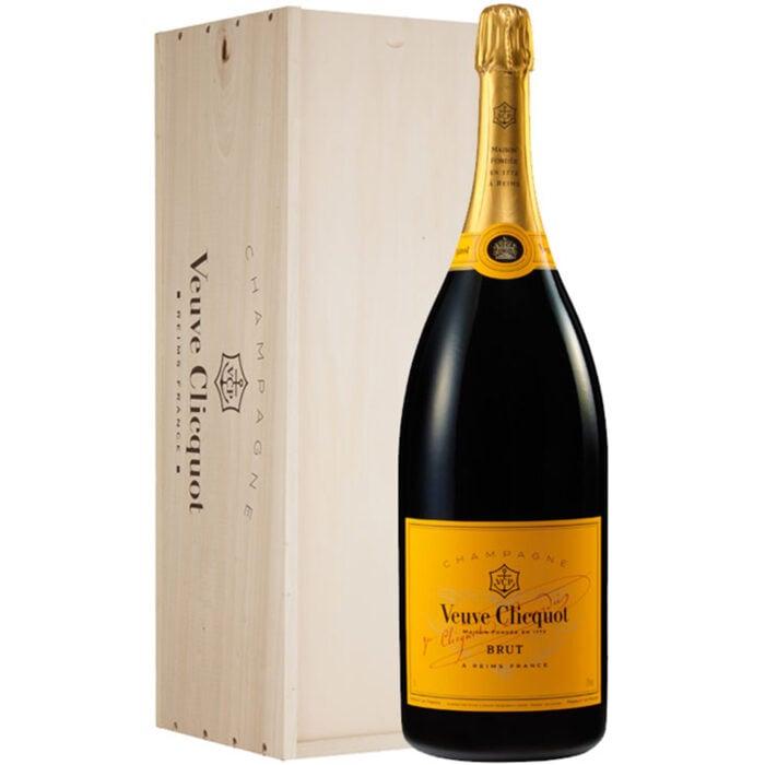 Champagne Veuve Clicquot Brut Carte Jaune Mathusalem - Champmarket