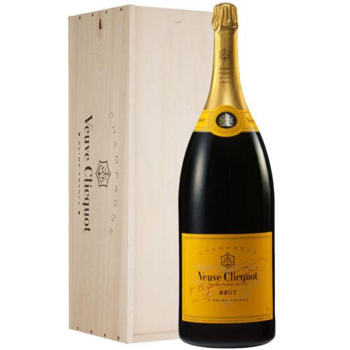 Champagne Veuve Clicquot Brut Carte Jaune Salmanazar - Champmarket
