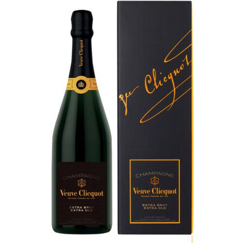 Champagne Veuve Clicquot Extra Brut Extra Old bouteille avec coffret - Champmarket