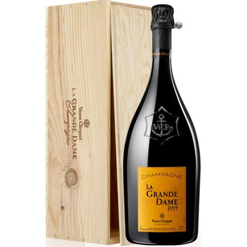 Champagne Veuve Clicquot La Grande Dame Jéroboam avec Caisse Bois - Champmarket