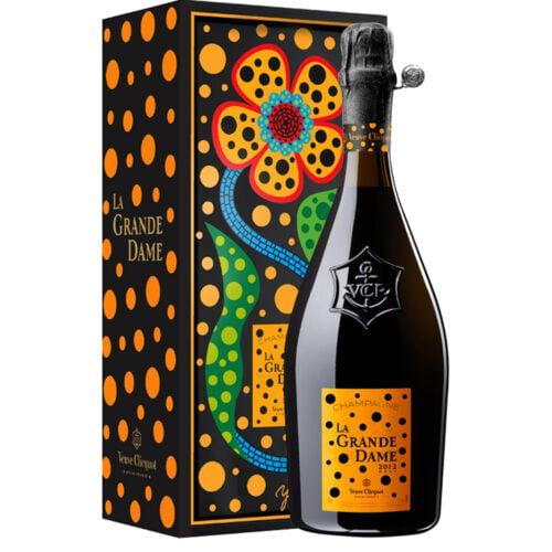 Champagne Veuve Clicquot La Grande Dame Brut 2012 Edition Limitee Yayoi Kusama bouteille - Champmarket