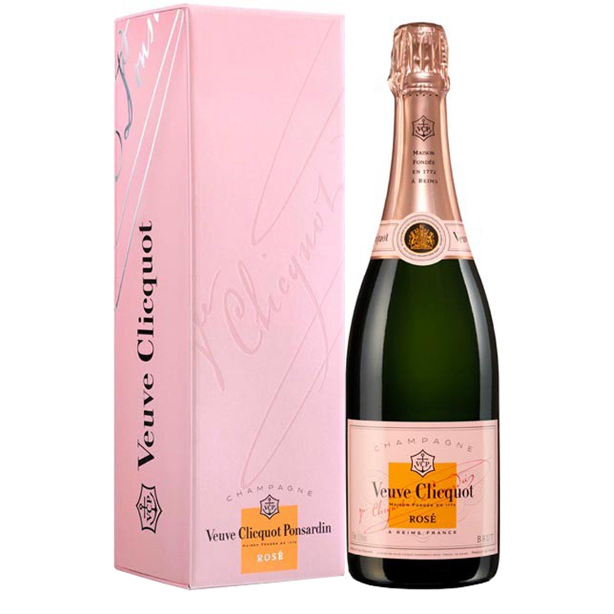 Champagne Veuve Clicquot Rosé bouteille avec étui - Champmarket