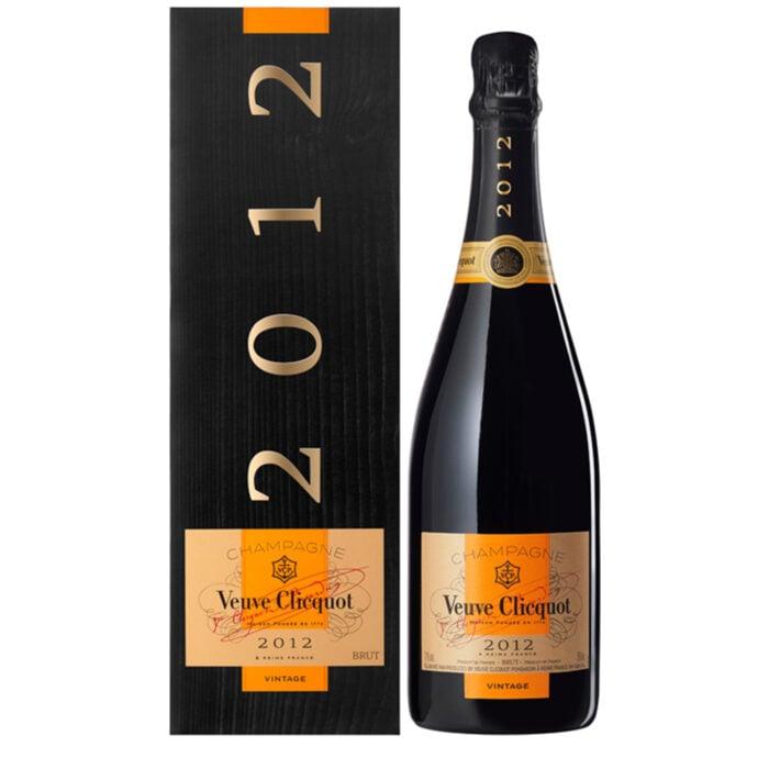 Champagne Veuve Clicquot Vintage 2012 bouteille avec coffret - Champmarket