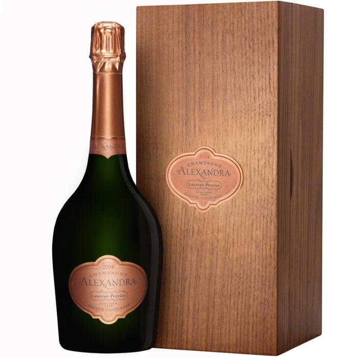 Champagne Laurent-Perrier Alexandra 2004 Grande Cuvée Rosé bouteille avec coffret - Champmarket