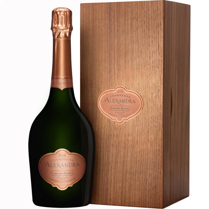 Champagne Laurent-Perrier Cuvée Alexandra Rosé 2004 Magnum avec Coffret Bois - Champmarket